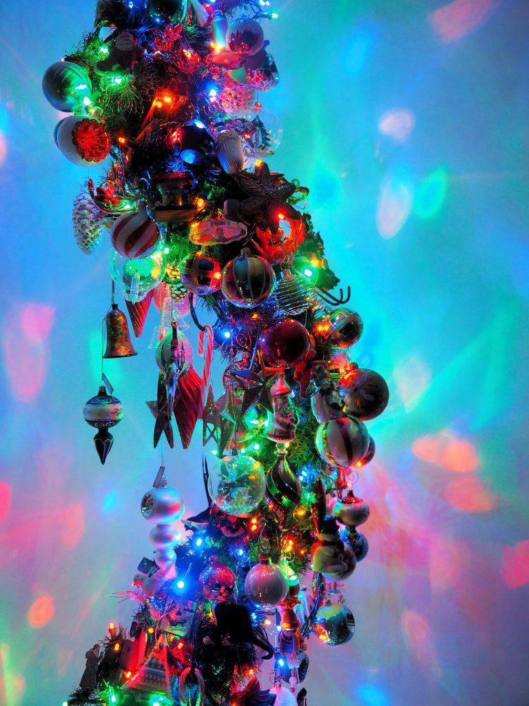 Aunt Lorraine's Christmas spiral